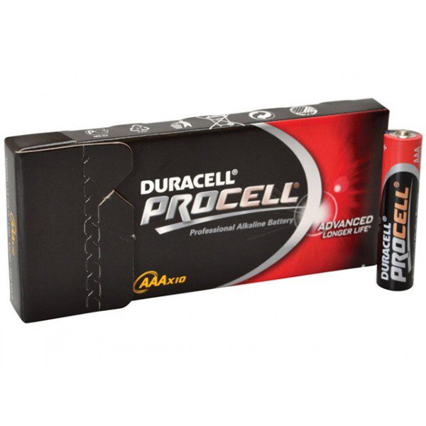 duracell AAA procell 10 stuks